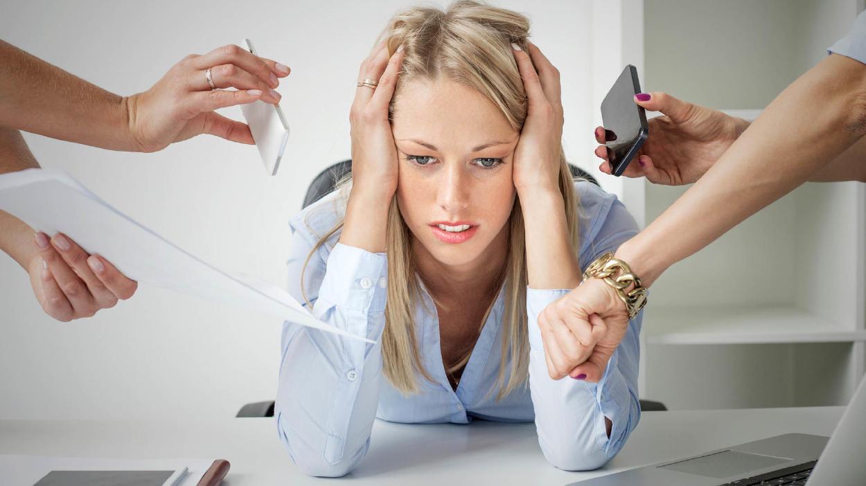 ¿Cuántas calorías produce el estrés?