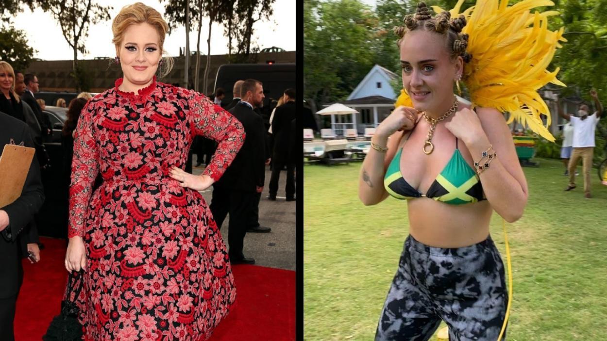 La dieta y rutina con la que Adele logró perder 68 kilos