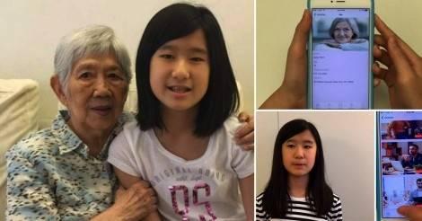 Esta niña invento algo para que su abuela con alzheimer no se olvide de ella