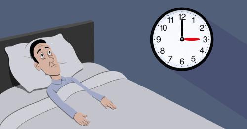¿Te despiertas sin razón aparente entre las 3 y las 5 de la mañana?