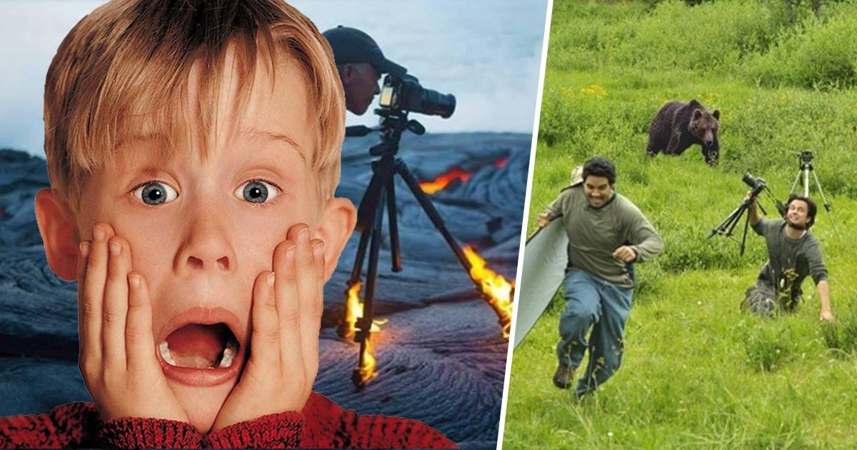 14+ fotos que muestran la difícil labor de ser fotógrafo