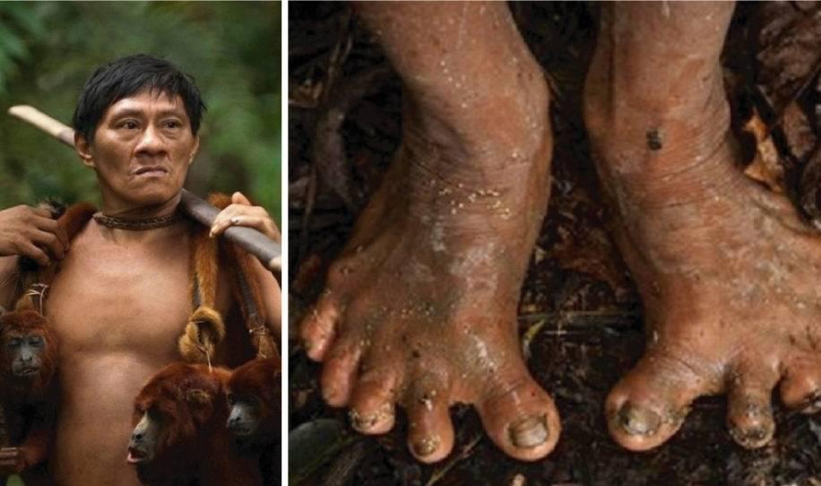 10+ fotos impresionantes que un fotógrafo capturó de los nativos del Amazonas