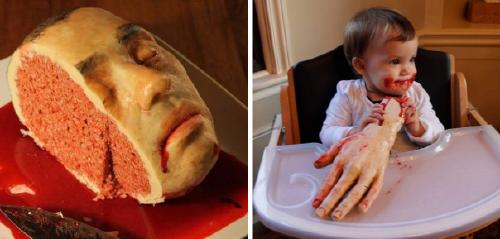 10+ pasteles más enfermos y bizarros del mundo