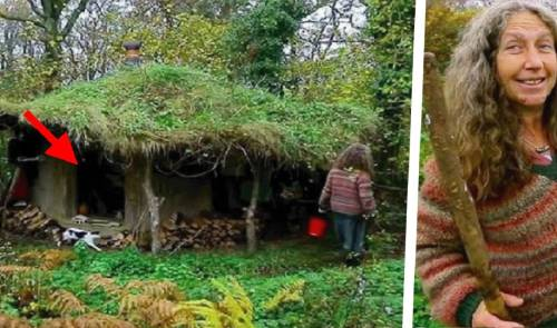 La consideraron loca por irse a vivir al bosque hace 17 años, a pesar de esto..