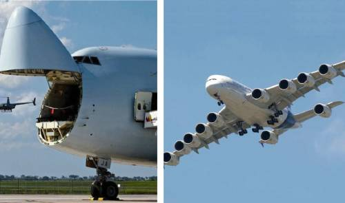 11+ fotos de los aviones más grandes del mundo