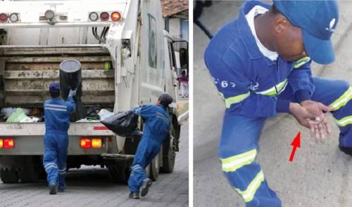 Al recolectar la basura sufrió un accidente que le causó la muerte, comparta..