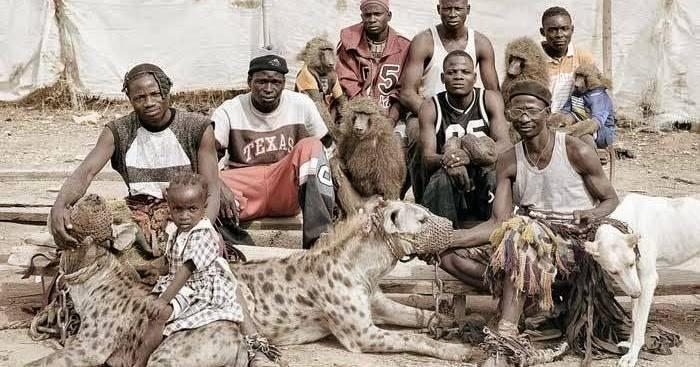 Los misteriosos pandilleros hiena