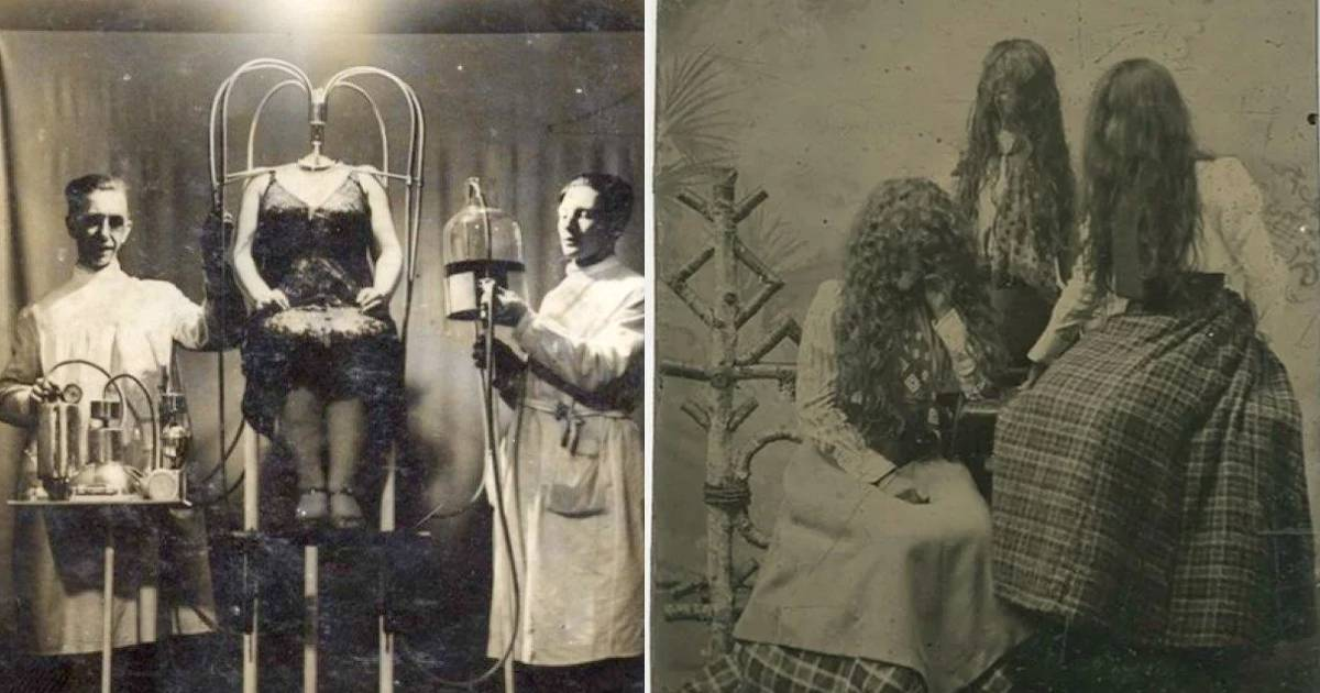 14+ fotografías antiguas que son horripilantes - ¡hoy no duermes!
