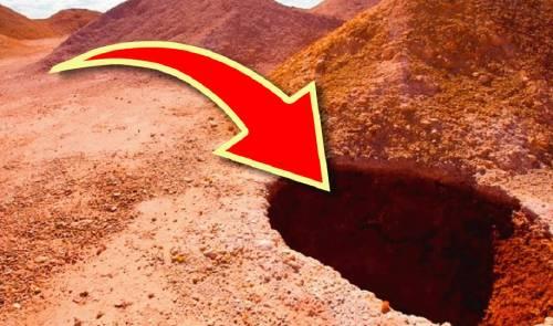 Nadie puede creer lo que se esconde dentro de este agujero en australia, ¡es ..