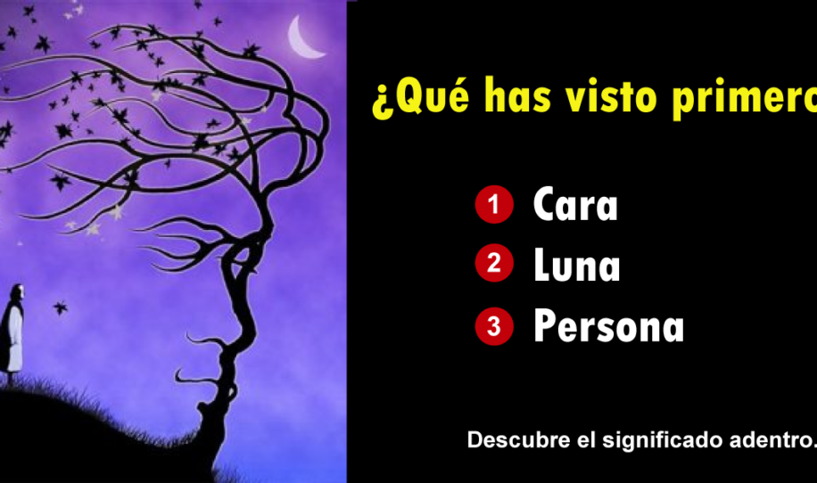 Test psicológico exacto: ¿qué viste primero? - tu respuesta te dirá que ti..