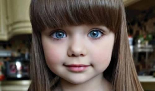 ¡la llamaron la niña más bella del mundo! - así es como luce en la actuali..