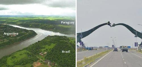 14+ fotos de las fronteras más bonitas y creativas del mundo
