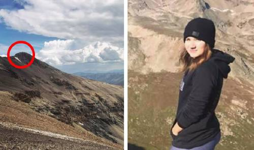Un perro lloraba en la montaña y esta chica encontró algo extraordinario