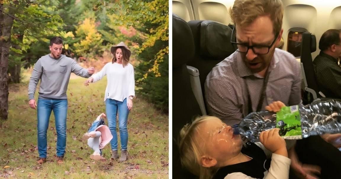 Padres comparten los errores más épicos de sus hijos y así son de divertidos