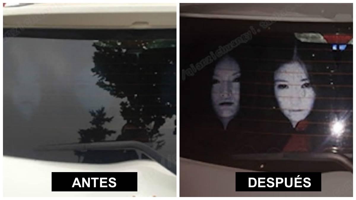 7+ calcomanías para tu auto que solo se ven cuando alguien te pone las luces ..