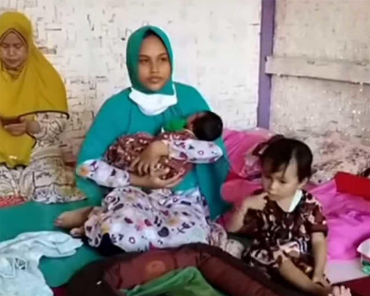 """Mujer afirma haber quedado embarazada por una """"ráfaga de viento"""" en Indonesia"""
