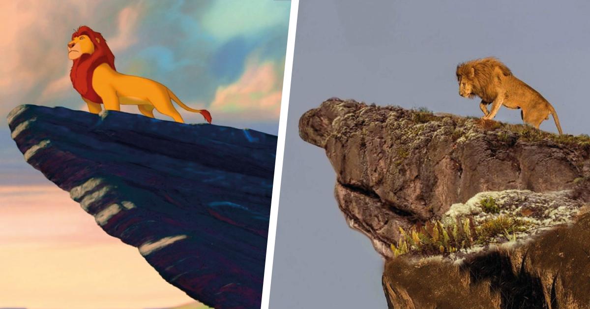 16+ lugares reales que inspiraron a las películas de disney para ilustrarlos