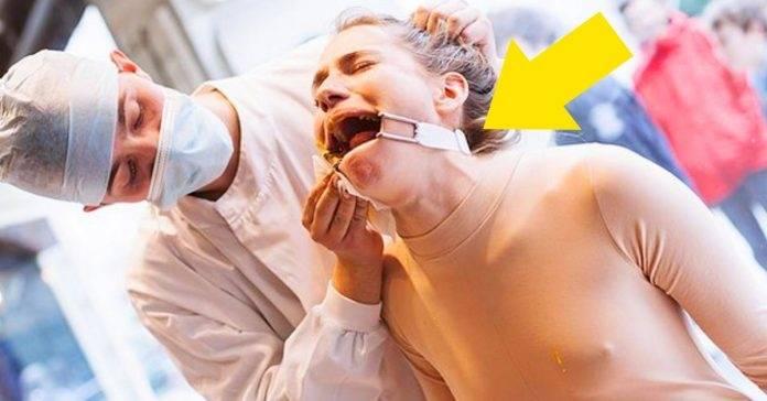 Esta mujer fue torturada para retratar el maltrato animal por parte de las emp..