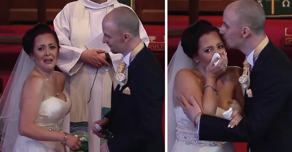 En plena boda el novio de manera inesperada le dice que voltee a mirar lo que ..