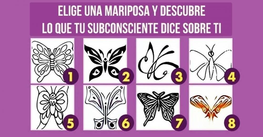 Elige una mariposa y descubre lo que revela tu subconsciente