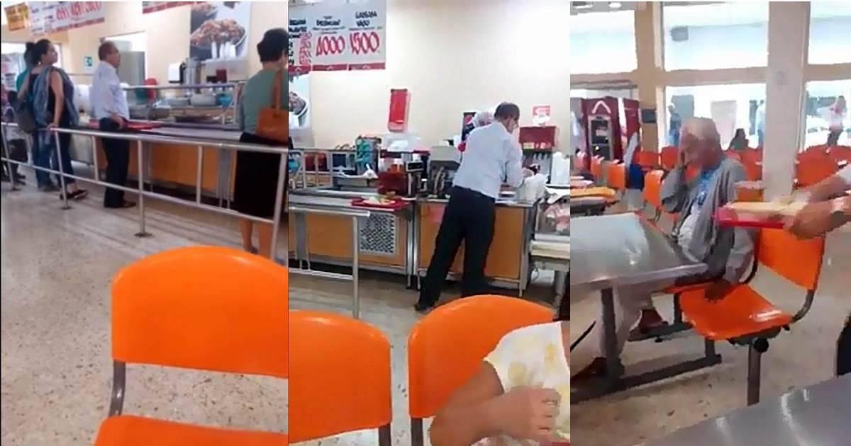 Internet aplaude el gesto tan hermoso de este hombre quien le da comida a un a..