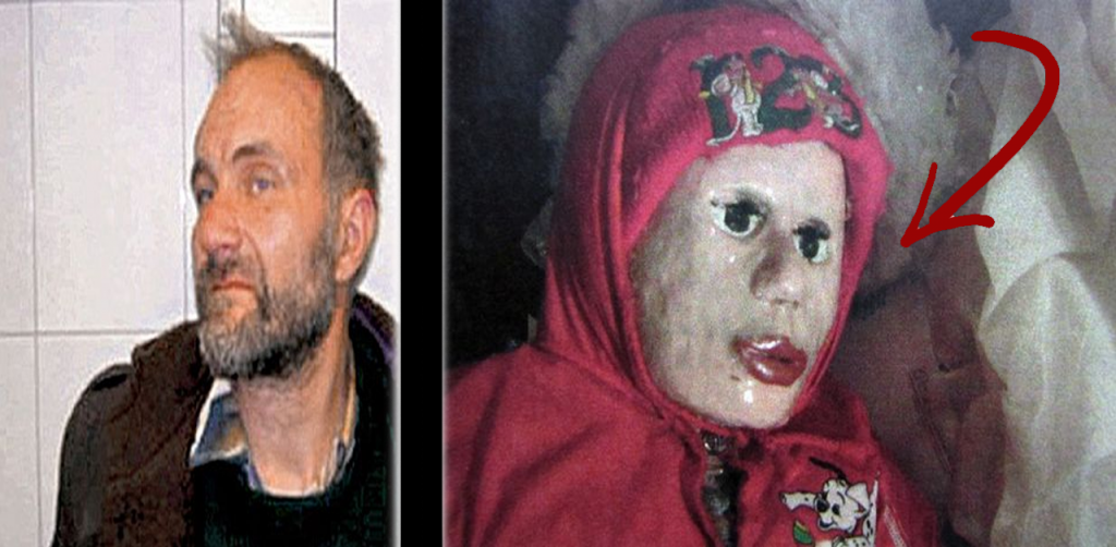 Este hombre de 45 años tenía muñecas en su casa. cuando la policía observo..