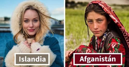 Fotógrafa captura la belleza de las mujeres de todo el mundo - este es el inc..