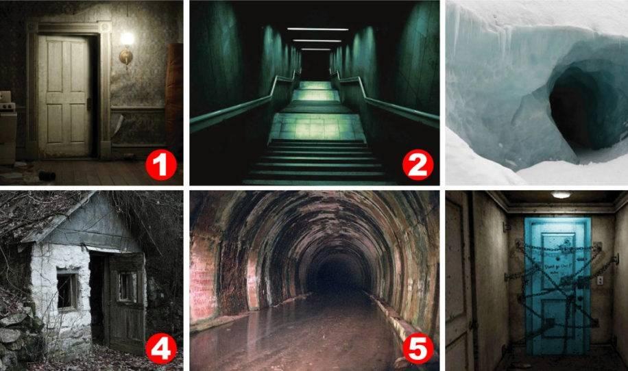 Test psicológico: ¿en cuál puerta te da más miedo entrar?