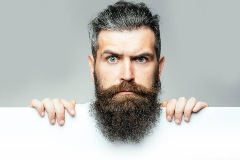La barba de los hombres tiene tantas bacterias como el pelo de los perros