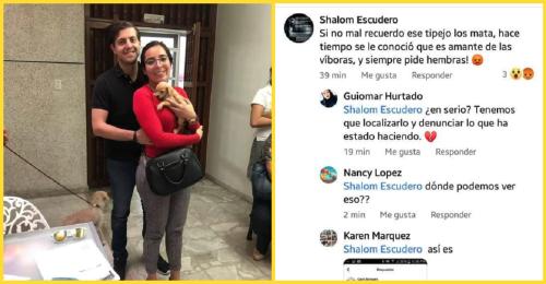 Denuncian que una pareja adopta perritos para alimentar a sus víboras