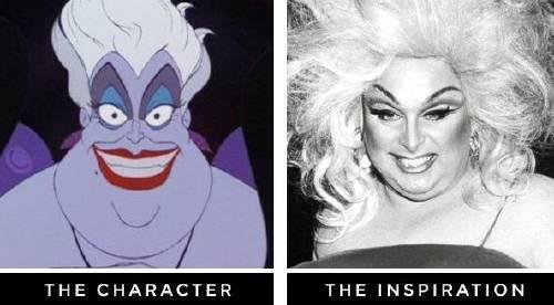 Personas reales que inspiraron dibujos animados.