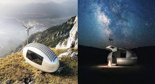Ecocapsulas las casas del futuro