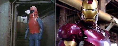 Los superhéroes también tiene un pasado, hoy en día son totalmente diferentes