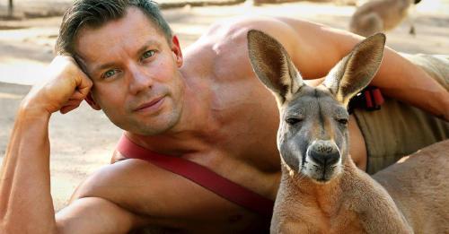 ¡Que manguera! Bomberos australianos posan con animales para el calendario 2020