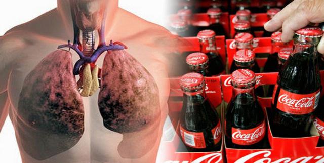 Esto es lo que le pasa a tu cuerpo después de beber una cocacola
