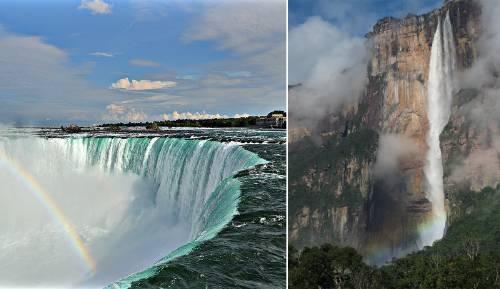 Las 6 cascadas más asombrosas del mundo