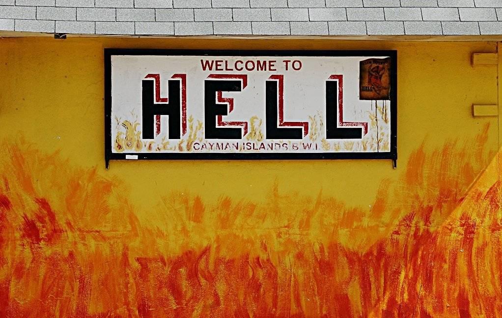 Tenebroso hallazgo: ¿existe la puerta del infierno?