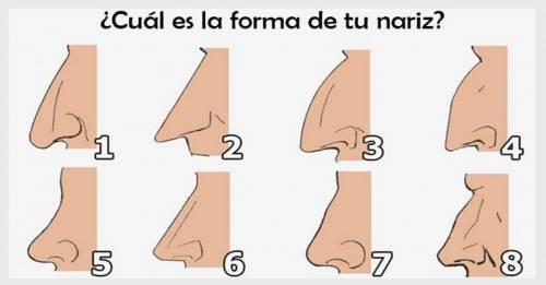 Test: ¿Cómo es tu nariz? descubre lo que revela tu forma