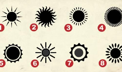 Elige un sol para conocer tu rasgo más secreto de tu personalidad
