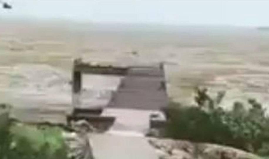 Desgarrador vídeo que muestra como el huracán irma deja sin agua a una playa..