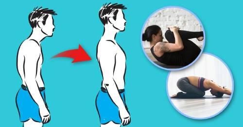 Reto: prueba estos ejercicios por 10 días para mejorar tu postura. ¿Podrás?