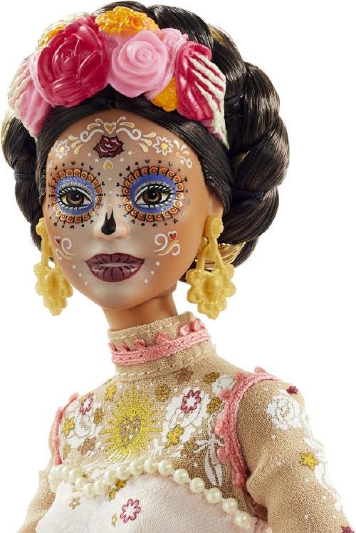 Barbie se convierte en Catrina en una edición especial por el Día de los Muertos