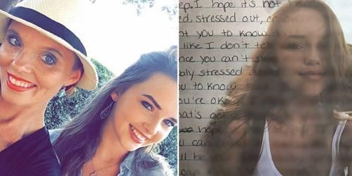 Esta madre queda en shock al encontrar cartas escondidas que le dejó su hija,..