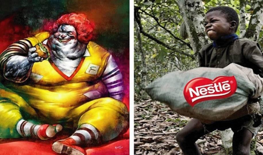 10+ fotos que muestran como sería en realidad la publicidad de las marcas