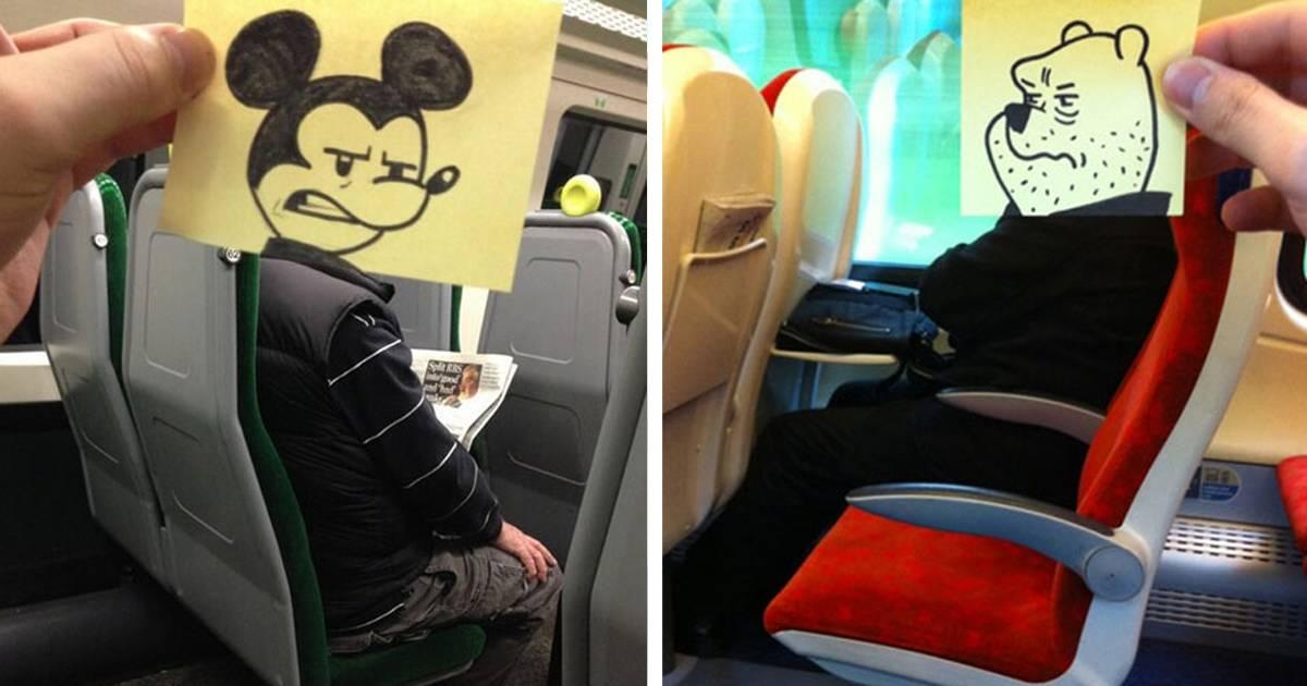 Este ilustrador saca su lado más creativo cada vez que viaja (12+ fotos)