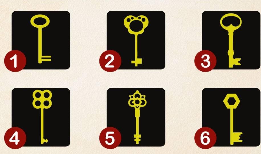 Test psicológico de las llaves: elige una y mira tu personalidad oculta