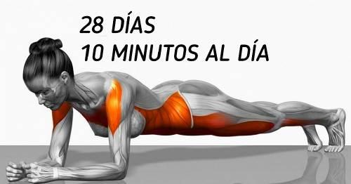 7+ ejercicios que transformarán tu cuerpo en unas semanas