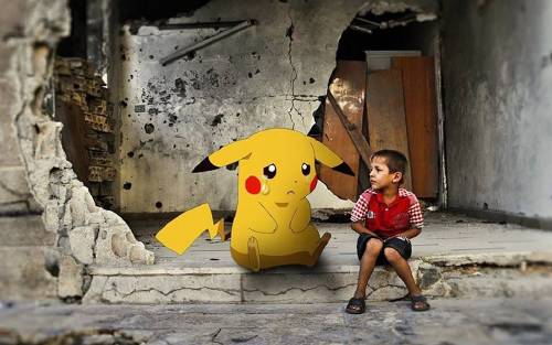 Los niños sirios que piden a los jugadores de 'pokemon go' que los salven de ..