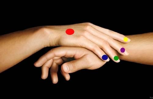 Presionar los dedos puede solucionar dolores físicos