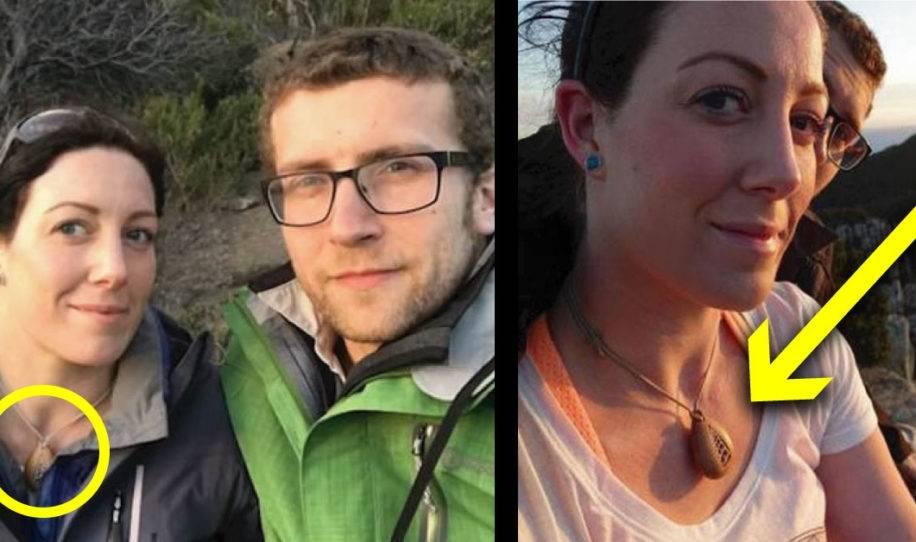Le regala collar a su novia, dos años después descubre lo que contiene y grita